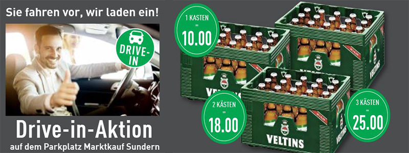 Drive-In Aktion
